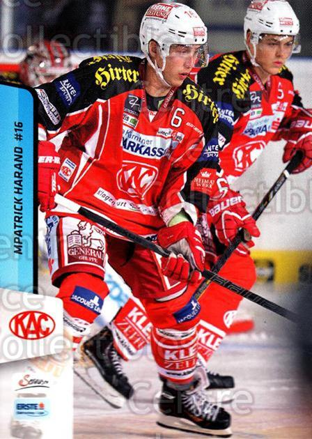 2013-14 Erste Bank Eishockey Liga EBEL #10 Patrick Harand<br/>5 In Stock - $2.00 each - <a href=https://centericecollectibles.foxycart.com/cart?name=2013-14%20Erste%20Bank%20Eishockey%20Liga%20EBEL%20%2310%20Patrick%20Harand...&quantity_max=5&price=$2.00&code=590577 class=foxycart> Buy it now! </a>