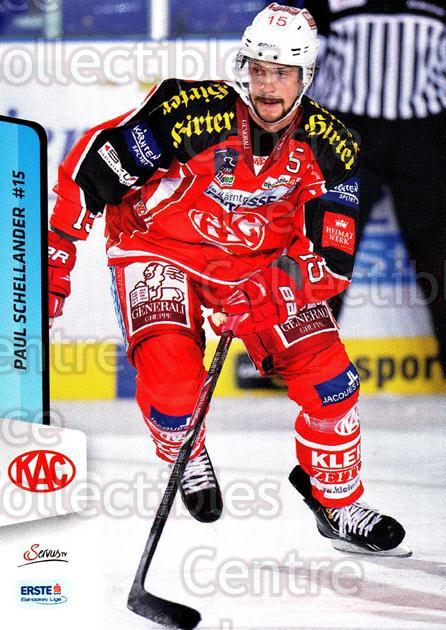 2013-14 Erste Bank Eishockey Liga EBEL #14 Paul Schellander<br/>5 In Stock - $2.00 each - <a href=https://centericecollectibles.foxycart.com/cart?name=2013-14%20Erste%20Bank%20Eishockey%20Liga%20EBEL%20%2314%20Paul%20Schellande...&quantity_max=5&price=$2.00&code=590581 class=foxycart> Buy it now! </a>