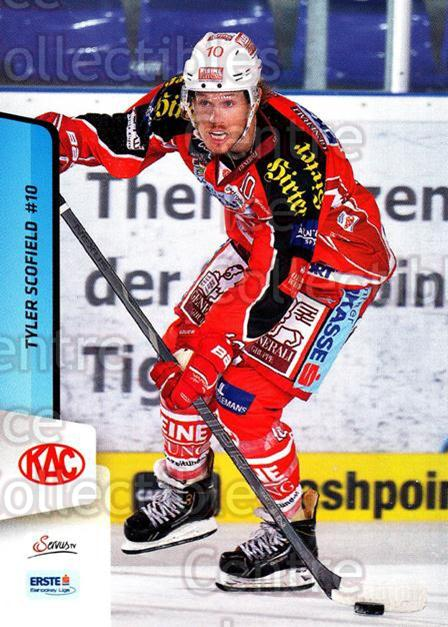 2013-14 Erste Bank Eishockey Liga EBEL #16 Tyler Scofi eld<br/>5 In Stock - $2.00 each - <a href=https://centericecollectibles.foxycart.com/cart?name=2013-14%20Erste%20Bank%20Eishockey%20Liga%20EBEL%20%2316%20Tyler%20Scofi%20eld...&quantity_max=5&price=$2.00&code=590583 class=foxycart> Buy it now! </a>