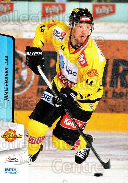 2013-14 Erste Bank Eishockey Liga EBEL #21 Jamie Fraser<br/>3 In Stock - $2.00 each - <a href=https://centericecollectibles.foxycart.com/cart?name=2013-14%20Erste%20Bank%20Eishockey%20Liga%20EBEL%20%2321%20Jamie%20Fraser...&quantity_max=3&price=$2.00&code=590588 class=foxycart> Buy it now! </a>