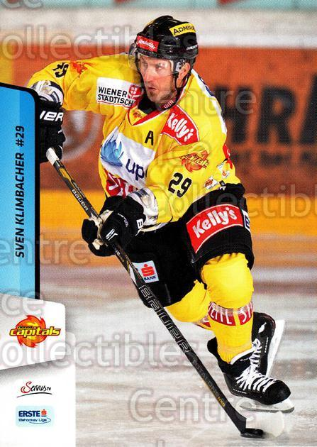2013-14 Erste Bank Eishockey Liga EBEL #22 Sven Klimbacher<br/>4 In Stock - $2.00 each - <a href=https://centericecollectibles.foxycart.com/cart?name=2013-14%20Erste%20Bank%20Eishockey%20Liga%20EBEL%20%2322%20Sven%20Klimbacher...&quantity_max=4&price=$2.00&code=590589 class=foxycart> Buy it now! </a>