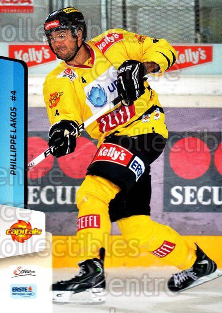 2013-14 Erste Bank Eishockey Liga EBEL #23 Phillippe Lakos<br/>4 In Stock - $2.00 each - <a href=https://centericecollectibles.foxycart.com/cart?name=2013-14%20Erste%20Bank%20Eishockey%20Liga%20EBEL%20%2323%20Phillippe%20Lakos...&quantity_max=4&price=$2.00&code=590590 class=foxycart> Buy it now! </a>