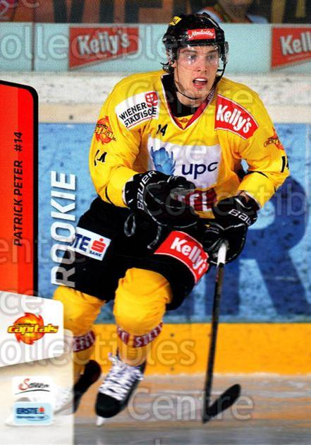 2013-14 Erste Bank Eishockey Liga EBEL #24 Patrick Peter<br/>4 In Stock - $2.00 each - <a href=https://centericecollectibles.foxycart.com/cart?name=2013-14%20Erste%20Bank%20Eishockey%20Liga%20EBEL%20%2324%20Patrick%20Peter...&quantity_max=4&price=$2.00&code=590591 class=foxycart> Buy it now! </a>
