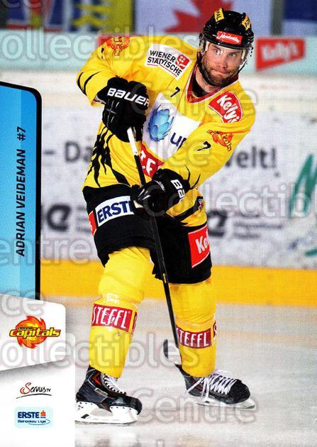 2013-14 Erste Bank Eishockey Liga EBEL #25 Adrian Veideman<br/>5 In Stock - $2.00 each - <a href=https://centericecollectibles.foxycart.com/cart?name=2013-14%20Erste%20Bank%20Eishockey%20Liga%20EBEL%20%2325%20Adrian%20Veideman...&quantity_max=5&price=$2.00&code=590592 class=foxycart> Buy it now! </a>