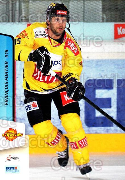 2013-14 Erste Bank Eishockey Liga EBEL #29 Francois Fortier<br/>5 In Stock - $2.00 each - <a href=https://centericecollectibles.foxycart.com/cart?name=2013-14%20Erste%20Bank%20Eishockey%20Liga%20EBEL%20%2329%20Francois%20Fortie...&quantity_max=5&price=$2.00&code=590596 class=foxycart> Buy it now! </a>