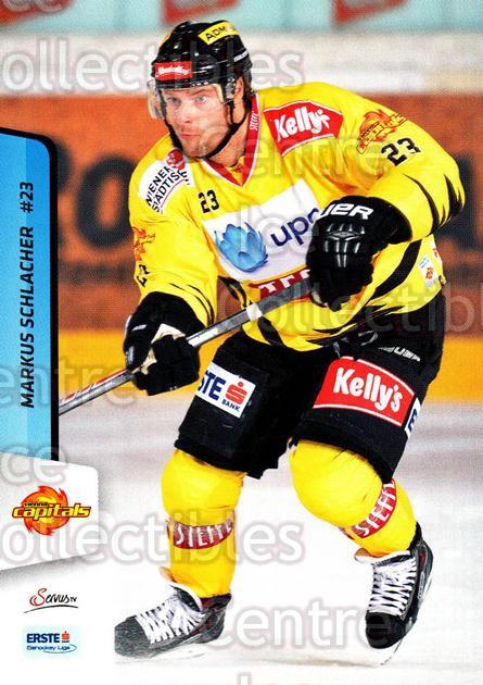 2013-14 Erste Bank Eishockey Liga EBEL #33 Markus Schlacher<br/>4 In Stock - $2.00 each - <a href=https://centericecollectibles.foxycart.com/cart?name=2013-14%20Erste%20Bank%20Eishockey%20Liga%20EBEL%20%2333%20Markus%20Schlache...&quantity_max=4&price=$2.00&code=590600 class=foxycart> Buy it now! </a>