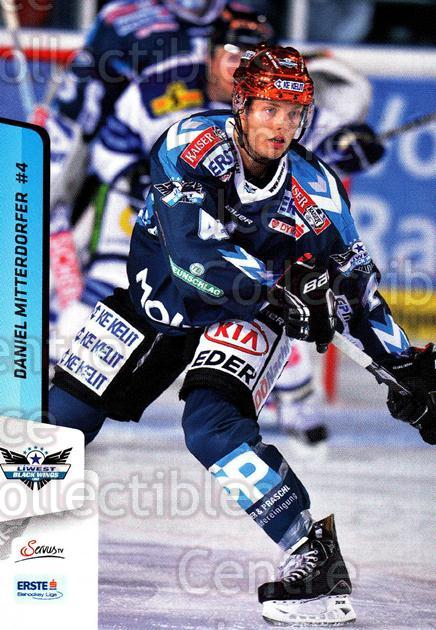 2013-14 Erste Bank Eishockey Liga EBEL #39 Daniel Mitterdorfer<br/>5 In Stock - $2.00 each - <a href=https://centericecollectibles.foxycart.com/cart?name=2013-14%20Erste%20Bank%20Eishockey%20Liga%20EBEL%20%2339%20Daniel%20Mitterdo...&quantity_max=5&price=$2.00&code=590606 class=foxycart> Buy it now! </a>