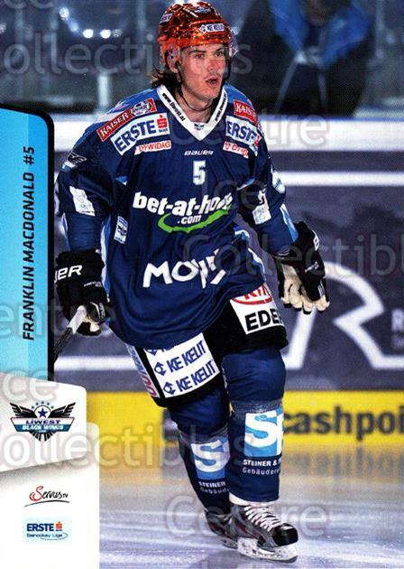 2013-14 Erste Bank Eishockey Liga EBEL #40 Franklin MacDonald<br/>3 In Stock - $2.00 each - <a href=https://centericecollectibles.foxycart.com/cart?name=2013-14%20Erste%20Bank%20Eishockey%20Liga%20EBEL%20%2340%20Franklin%20MacDon...&quantity_max=3&price=$2.00&code=590607 class=foxycart> Buy it now! </a>