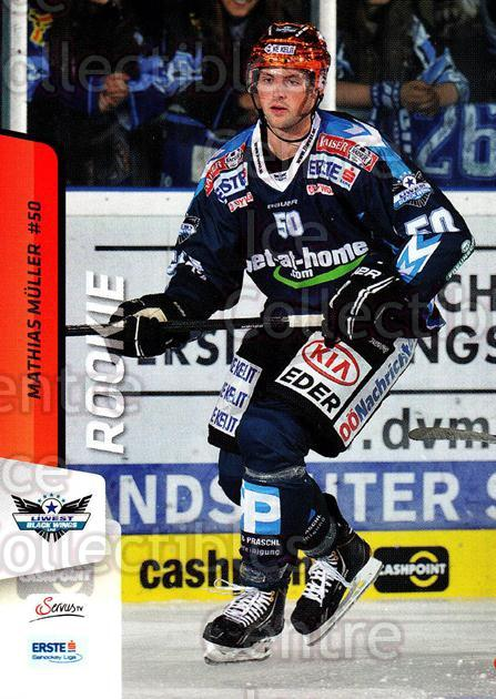 2013-14 Erste Bank Eishockey Liga EBEL #43 Mathias Muller<br/>3 In Stock - $2.00 each - <a href=https://centericecollectibles.foxycart.com/cart?name=2013-14%20Erste%20Bank%20Eishockey%20Liga%20EBEL%20%2343%20Mathias%20Muller...&quantity_max=3&price=$2.00&code=590610 class=foxycart> Buy it now! </a>