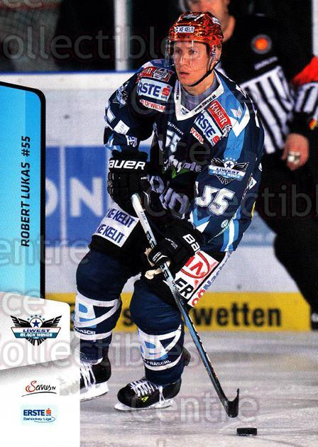 2013-14 Erste Bank Eishockey Liga EBEL #44 Robert Lukas<br/>4 In Stock - $2.00 each - <a href=https://centericecollectibles.foxycart.com/cart?name=2013-14%20Erste%20Bank%20Eishockey%20Liga%20EBEL%20%2344%20Robert%20Lukas...&quantity_max=4&price=$2.00&code=590611 class=foxycart> Buy it now! </a>