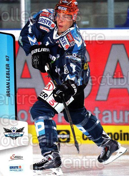 2013-14 Erste Bank Eishockey Liga EBEL #45 Brian Lebler<br/>3 In Stock - $2.00 each - <a href=https://centericecollectibles.foxycart.com/cart?name=2013-14%20Erste%20Bank%20Eishockey%20Liga%20EBEL%20%2345%20Brian%20Lebler...&quantity_max=3&price=$2.00&code=590612 class=foxycart> Buy it now! </a>