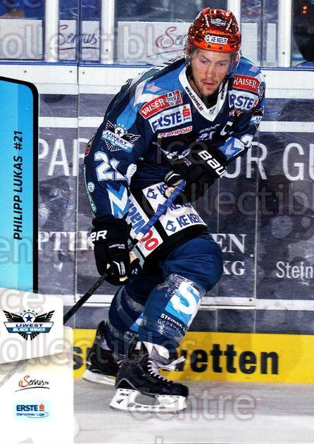 2013-14 Erste Bank Eishockey Liga EBEL #47 Philipp Lukas<br/>5 In Stock - $2.00 each - <a href=https://centericecollectibles.foxycart.com/cart?name=2013-14%20Erste%20Bank%20Eishockey%20Liga%20EBEL%20%2347%20Philipp%20Lukas...&quantity_max=5&price=$2.00&code=590614 class=foxycart> Buy it now! </a>