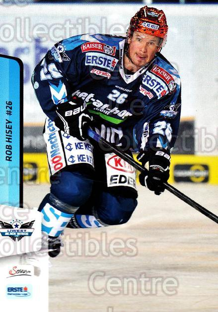 2013-14 Erste Bank Eishockey Liga EBEL #48 Rob Hisey<br/>3 In Stock - $2.00 each - <a href=https://centericecollectibles.foxycart.com/cart?name=2013-14%20Erste%20Bank%20Eishockey%20Liga%20EBEL%20%2348%20Rob%20Hisey...&quantity_max=3&price=$2.00&code=590615 class=foxycart> Buy it now! </a>