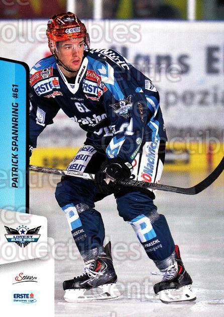 2013-14 Erste Bank Eishockey Liga EBEL #50 Patrick Spannring<br/>5 In Stock - $2.00 each - <a href=https://centericecollectibles.foxycart.com/cart?name=2013-14%20Erste%20Bank%20Eishockey%20Liga%20EBEL%20%2350%20Patrick%20Spannri...&quantity_max=5&price=$2.00&code=590617 class=foxycart> Buy it now! </a>