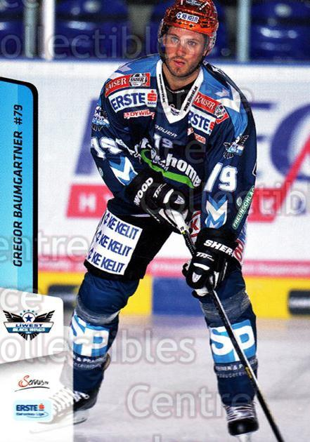 2013-14 Erste Bank Eishockey Liga EBEL #54 Gregor Baumgartner<br/>5 In Stock - $2.00 each - <a href=https://centericecollectibles.foxycart.com/cart?name=2013-14%20Erste%20Bank%20Eishockey%20Liga%20EBEL%20%2354%20Gregor%20Baumgart...&quantity_max=5&price=$2.00&code=590621 class=foxycart> Buy it now! </a>