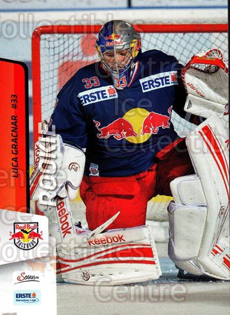 2013-14 Erste Bank Eishockey Liga EBEL #56 Luca Gracnar<br/>4 In Stock - $2.00 each - <a href=https://centericecollectibles.foxycart.com/cart?name=2013-14%20Erste%20Bank%20Eishockey%20Liga%20EBEL%20%2356%20Luca%20Gracnar...&quantity_max=4&price=$2.00&code=590623 class=foxycart> Buy it now! </a>