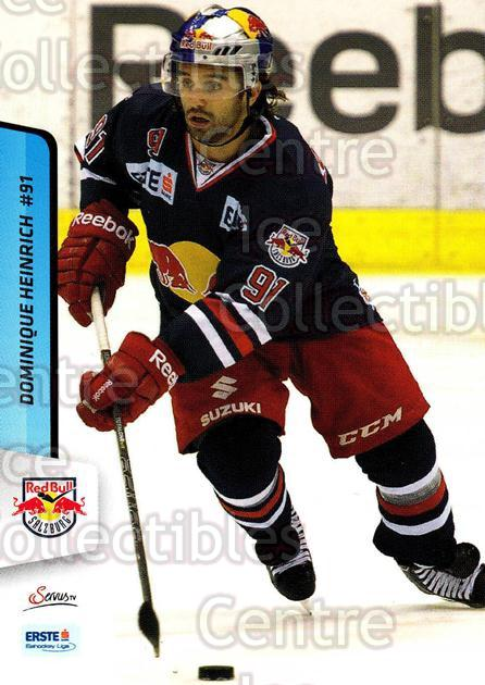 2013-14 Erste Bank Eishockey Liga EBEL #57 Dominique Heinrich<br/>4 In Stock - $2.00 each - <a href=https://centericecollectibles.foxycart.com/cart?name=2013-14%20Erste%20Bank%20Eishockey%20Liga%20EBEL%20%2357%20Dominique%20Heinr...&quantity_max=4&price=$2.00&code=590624 class=foxycart> Buy it now! </a>