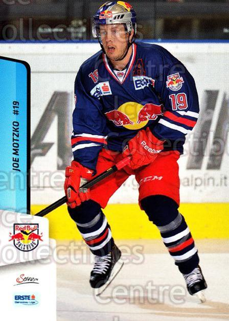 2013-14 Erste Bank Eishockey Liga EBEL #71 Joe Motzko<br/>3 In Stock - $2.00 each - <a href=https://centericecollectibles.foxycart.com/cart?name=2013-14%20Erste%20Bank%20Eishockey%20Liga%20EBEL%20%2371%20Joe%20Motzko...&quantity_max=3&price=$2.00&code=590638 class=foxycart> Buy it now! </a>