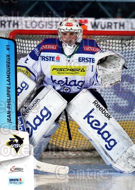 2013-14 Erste Bank Eishockey Liga EBEL #74 Jean-Philippe Lamoureux<br/>4 In Stock - $2.00 each - <a href=https://centericecollectibles.foxycart.com/cart?name=2013-14%20Erste%20Bank%20Eishockey%20Liga%20EBEL%20%2374%20Jean-Philippe%20L...&quantity_max=4&price=$2.00&code=590641 class=foxycart> Buy it now! </a>