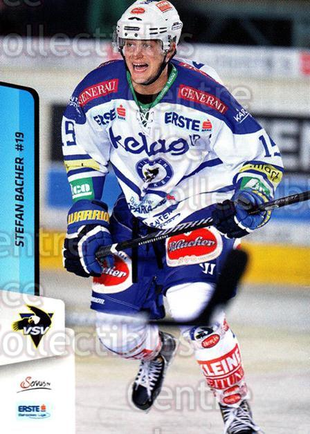 2013-14 Erste Bank Eishockey Liga EBEL #76 Stefan Bacher<br/>4 In Stock - $2.00 each - <a href=https://centericecollectibles.foxycart.com/cart?name=2013-14%20Erste%20Bank%20Eishockey%20Liga%20EBEL%20%2376%20Stefan%20Bacher...&quantity_max=4&price=$2.00&code=590643 class=foxycart> Buy it now! </a>