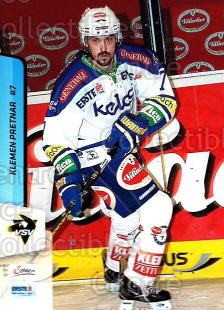 2013-14 Erste Bank Eishockey Liga EBEL #77 Klemen Pretnar<br/>3 In Stock - $2.00 each - <a href=https://centericecollectibles.foxycart.com/cart?name=2013-14%20Erste%20Bank%20Eishockey%20Liga%20EBEL%20%2377%20Klemen%20Pretnar...&quantity_max=3&price=$2.00&code=590644 class=foxycart> Buy it now! </a>