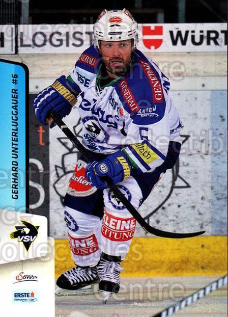 2013-14 Erste Bank Eishockey Liga EBEL #79 Gerhard Unterluggauer<br/>5 In Stock - $2.00 each - <a href=https://centericecollectibles.foxycart.com/cart?name=2013-14%20Erste%20Bank%20Eishockey%20Liga%20EBEL%20%2379%20Gerhard%20Unterlu...&quantity_max=5&price=$2.00&code=590646 class=foxycart> Buy it now! </a>