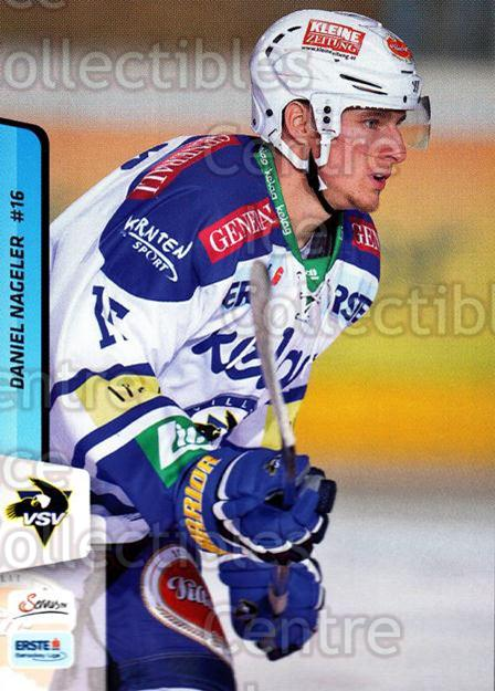 2013-14 Erste Bank Eishockey Liga EBEL #83 Daniel Nagleer<br/>5 In Stock - $2.00 each - <a href=https://centericecollectibles.foxycart.com/cart?name=2013-14%20Erste%20Bank%20Eishockey%20Liga%20EBEL%20%2383%20Daniel%20Nagleer...&quantity_max=5&price=$2.00&code=590650 class=foxycart> Buy it now! </a>