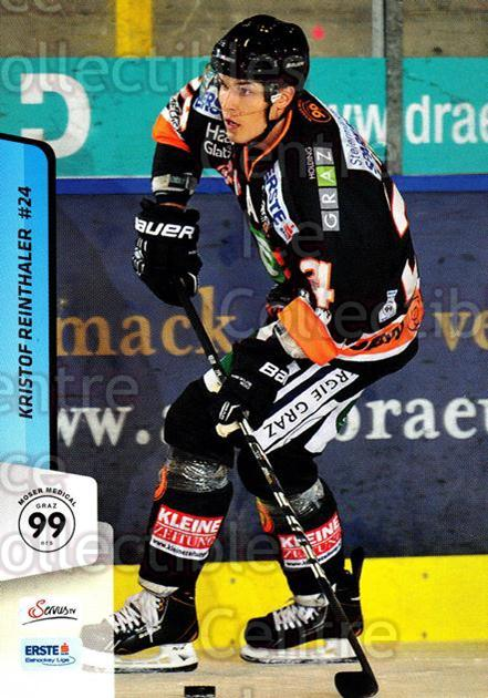 2013-14 Erste Bank Eishockey Liga EBEL #93 Kristof Reinthaler<br/>5 In Stock - $2.00 each - <a href=https://centericecollectibles.foxycart.com/cart?name=2013-14%20Erste%20Bank%20Eishockey%20Liga%20EBEL%20%2393%20Kristof%20Reintha...&quantity_max=5&price=$2.00&code=590660 class=foxycart> Buy it now! </a>