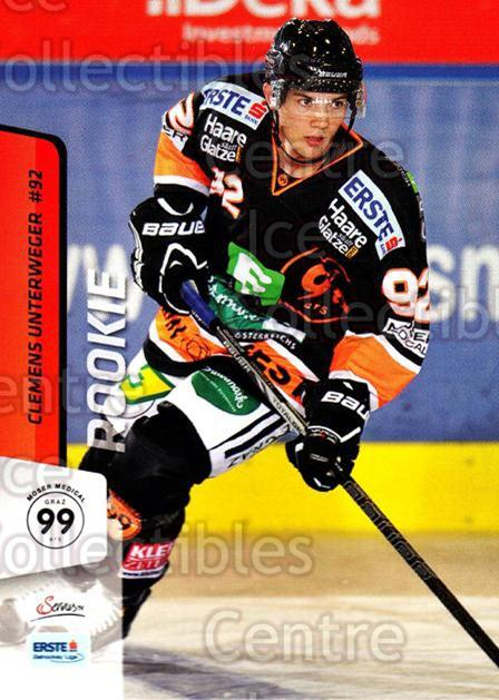 2013-14 Erste Bank Eishockey Liga EBEL #95 Clemens Unterweger<br/>4 In Stock - $2.00 each - <a href=https://centericecollectibles.foxycart.com/cart?name=2013-14%20Erste%20Bank%20Eishockey%20Liga%20EBEL%20%2395%20Clemens%20Unterwe...&quantity_max=4&price=$2.00&code=590662 class=foxycart> Buy it now! </a>