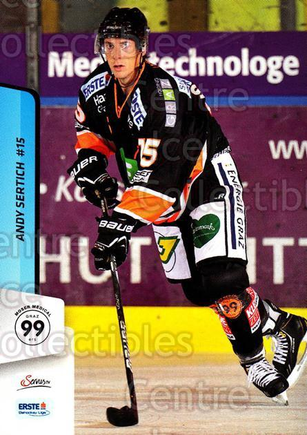 2013-14 Erste Bank Eishockey Liga EBEL #97 Andy Sertich<br/>1 In Stock - $2.00 each - <a href=https://centericecollectibles.foxycart.com/cart?name=2013-14%20Erste%20Bank%20Eishockey%20Liga%20EBEL%20%2397%20Andy%20Sertich...&quantity_max=1&price=$2.00&code=590664 class=foxycart> Buy it now! </a>