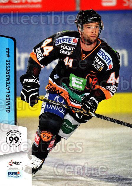 2013-14 Erste Bank Eishockey Liga EBEL #103 Olivier Latendresse<br/>4 In Stock - $2.00 each - <a href=https://centericecollectibles.foxycart.com/cart?name=2013-14%20Erste%20Bank%20Eishockey%20Liga%20EBEL%20%23103%20Olivier%20Latendr...&quantity_max=4&price=$2.00&code=590670 class=foxycart> Buy it now! </a>
