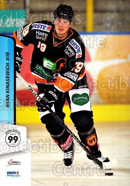 2013-14 Erste Bank Eishockey Liga EBEL #106 Ryan Kinasewich<br/>2 In Stock - $2.00 each - <a href=https://centericecollectibles.foxycart.com/cart?name=2013-14%20Erste%20Bank%20Eishockey%20Liga%20EBEL%20%23106%20Ryan%20Kinasewich...&quantity_max=2&price=$2.00&code=590673 class=foxycart> Buy it now! </a>