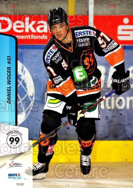 2013-14 Erste Bank Eishockey Liga EBEL #108 Daniel Woger<br/>5 In Stock - $2.00 each - <a href=https://centericecollectibles.foxycart.com/cart?name=2013-14%20Erste%20Bank%20Eishockey%20Liga%20EBEL%20%23108%20Daniel%20Woger...&quantity_max=5&price=$2.00&code=590675 class=foxycart> Buy it now! </a>