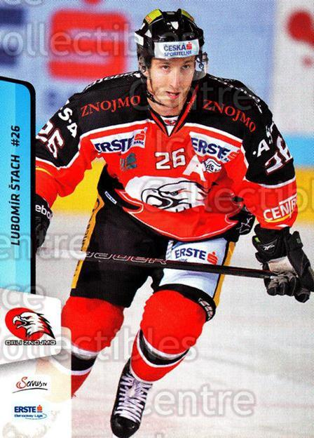 2013-14 Erste Bank Eishockey Liga EBEL #113 Lubomir Stach<br/>5 In Stock - $2.00 each - <a href=https://centericecollectibles.foxycart.com/cart?name=2013-14%20Erste%20Bank%20Eishockey%20Liga%20EBEL%20%23113%20Lubomir%20Stach...&quantity_max=5&price=$2.00&code=590680 class=foxycart> Buy it now! </a>