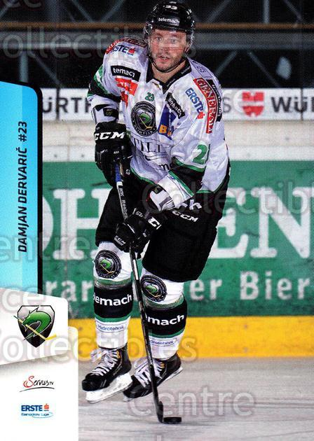 2013-14 Erste Bank Eishockey Liga EBEL #130 Damjan Dervaric<br/>4 In Stock - $2.00 each - <a href=https://centericecollectibles.foxycart.com/cart?name=2013-14%20Erste%20Bank%20Eishockey%20Liga%20EBEL%20%23130%20Damjan%20Dervaric...&quantity_max=4&price=$2.00&code=590697 class=foxycart> Buy it now! </a>