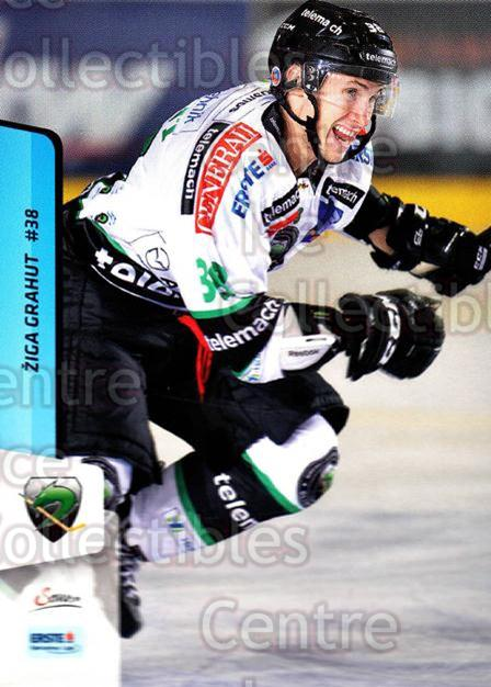 2013-14 Erste Bank Eishockey Liga EBEL #132 Ziga Grahut<br/>5 In Stock - $2.00 each - <a href=https://centericecollectibles.foxycart.com/cart?name=2013-14%20Erste%20Bank%20Eishockey%20Liga%20EBEL%20%23132%20Ziga%20Grahut...&quantity_max=5&price=$2.00&code=590699 class=foxycart> Buy it now! </a>