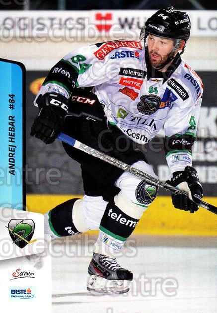 2013-14 Erste Bank Eishockey Liga EBEL #139 Andrej Hebar<br/>4 In Stock - $2.00 each - <a href=https://centericecollectibles.foxycart.com/cart?name=2013-14%20Erste%20Bank%20Eishockey%20Liga%20EBEL%20%23139%20Andrej%20Hebar...&quantity_max=4&price=$2.00&code=590706 class=foxycart> Buy it now! </a>
