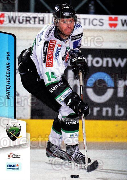 2013-14 Erste Bank Eishockey Liga EBEL #140 Matej Hocevar<br/>5 In Stock - $2.00 each - <a href=https://centericecollectibles.foxycart.com/cart?name=2013-14%20Erste%20Bank%20Eishockey%20Liga%20EBEL%20%23140%20Matej%20Hocevar...&quantity_max=5&price=$2.00&code=590707 class=foxycart> Buy it now! </a>