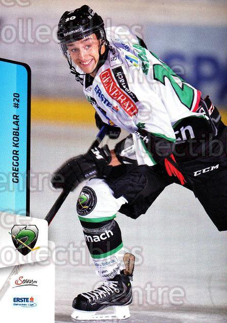 2013-14 Erste Bank Eishockey Liga EBEL #141 Gregor Koblar<br/>4 In Stock - $2.00 each - <a href=https://centericecollectibles.foxycart.com/cart?name=2013-14%20Erste%20Bank%20Eishockey%20Liga%20EBEL%20%23141%20Gregor%20Koblar...&quantity_max=4&price=$2.00&code=590708 class=foxycart> Buy it now! </a>