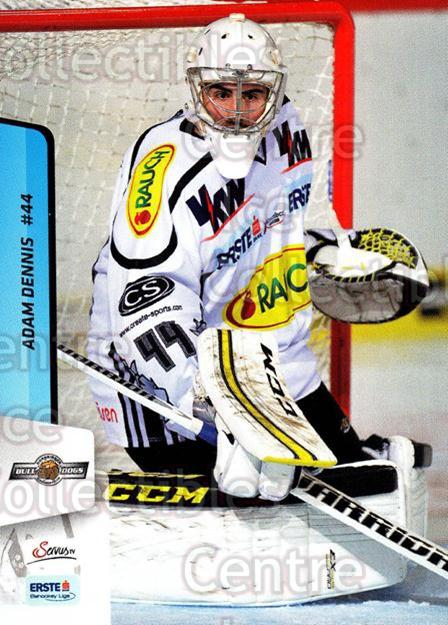 2013-14 Erste Bank Eishockey Liga EBEL #146 Adam Dennis<br/>3 In Stock - $2.00 each - <a href=https://centericecollectibles.foxycart.com/cart?name=2013-14%20Erste%20Bank%20Eishockey%20Liga%20EBEL%20%23146%20Adam%20Dennis...&quantity_max=3&price=$2.00&code=590713 class=foxycart> Buy it now! </a>
