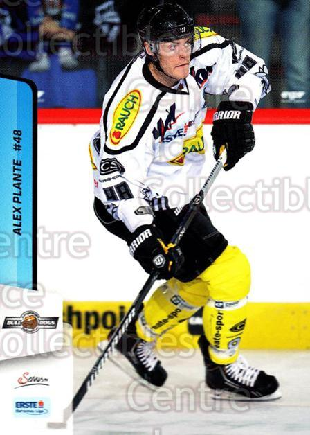 2013-14 Erste Bank Eishockey Liga EBEL #150 Alex Plante<br/>2 In Stock - $2.00 each - <a href=https://centericecollectibles.foxycart.com/cart?name=2013-14%20Erste%20Bank%20Eishockey%20Liga%20EBEL%20%23150%20Alex%20Plante...&quantity_max=2&price=$2.00&code=590717 class=foxycart> Buy it now! </a>