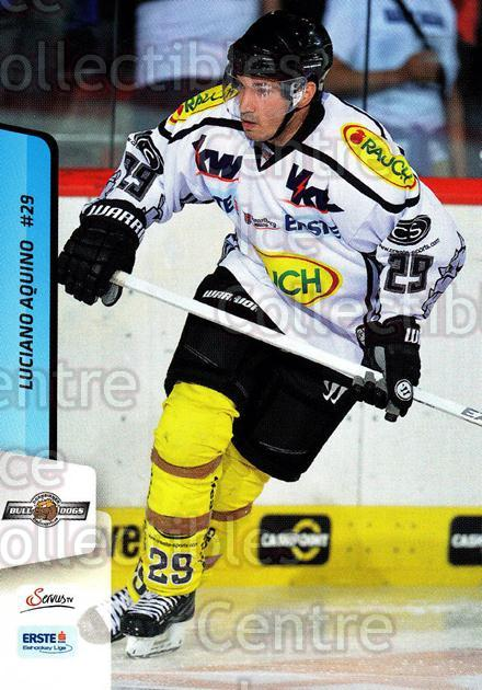 2013-14 Erste Bank Eishockey Liga EBEL #152 Luciano Aquino<br/>3 In Stock - $2.00 each - <a href=https://centericecollectibles.foxycart.com/cart?name=2013-14%20Erste%20Bank%20Eishockey%20Liga%20EBEL%20%23152%20Luciano%20Aquino...&quantity_max=3&price=$2.00&code=590719 class=foxycart> Buy it now! </a>