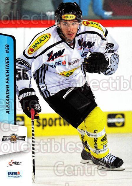 2013-14 Erste Bank Eishockey Liga EBEL #153 Alexander Feichtner<br/>5 In Stock - $2.00 each - <a href=https://centericecollectibles.foxycart.com/cart?name=2013-14%20Erste%20Bank%20Eishockey%20Liga%20EBEL%20%23153%20Alexander%20Feich...&price=$2.00&code=590720 class=foxycart> Buy it now! </a>