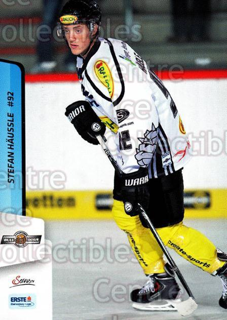 2013-14 Erste Bank Eishockey Liga EBEL #154 Stefan Haussle<br/>5 In Stock - $2.00 each - <a href=https://centericecollectibles.foxycart.com/cart?name=2013-14%20Erste%20Bank%20Eishockey%20Liga%20EBEL%20%23154%20Stefan%20Haussle...&quantity_max=5&price=$2.00&code=590721 class=foxycart> Buy it now! </a>