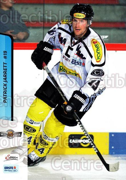 2013-14 Erste Bank Eishockey Liga EBEL #158 Patrick Jarrett<br/>1 In Stock - $2.00 each - <a href=https://centericecollectibles.foxycart.com/cart?name=2013-14%20Erste%20Bank%20Eishockey%20Liga%20EBEL%20%23158%20Patrick%20Jarrett...&quantity_max=1&price=$2.00&code=590725 class=foxycart> Buy it now! </a>