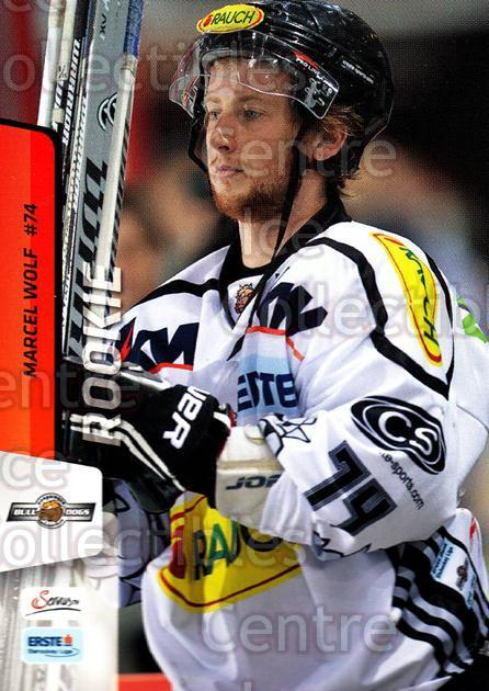 2013-14 Erste Bank Eishockey Liga EBEL #161 Marcel Wolf<br/>5 In Stock - $2.00 each - <a href=https://centericecollectibles.foxycart.com/cart?name=2013-14%20Erste%20Bank%20Eishockey%20Liga%20EBEL%20%23161%20Marcel%20Wolf...&quantity_max=5&price=$2.00&code=590728 class=foxycart> Buy it now! </a>