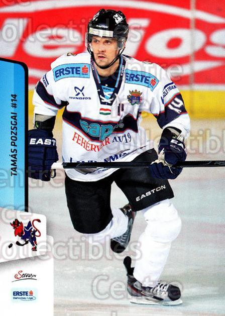2013-14 Erste Bank Eishockey Liga EBEL #165 Tamas Pozsgai<br/>4 In Stock - $2.00 each - <a href=https://centericecollectibles.foxycart.com/cart?name=2013-14%20Erste%20Bank%20Eishockey%20Liga%20EBEL%20%23165%20Tamas%20Pozsgai...&quantity_max=4&price=$2.00&code=590732 class=foxycart> Buy it now! </a>