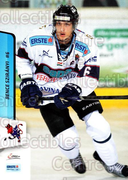 2013-14 Erste Bank Eishockey Liga EBEL #168 Bence Sziranyi<br/>4 In Stock - $2.00 each - <a href=https://centericecollectibles.foxycart.com/cart?name=2013-14%20Erste%20Bank%20Eishockey%20Liga%20EBEL%20%23168%20Bence%20Sziranyi...&quantity_max=4&price=$2.00&code=590735 class=foxycart> Buy it now! </a>