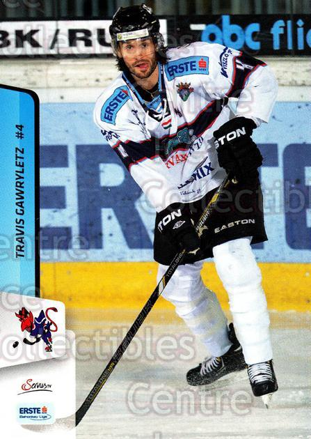 2013-14 Erste Bank Eishockey Liga EBEL #169 Travis Gawryletz<br/>2 In Stock - $2.00 each - <a href=https://centericecollectibles.foxycart.com/cart?name=2013-14%20Erste%20Bank%20Eishockey%20Liga%20EBEL%20%23169%20Travis%20Gawrylet...&quantity_max=2&price=$2.00&code=590736 class=foxycart> Buy it now! </a>