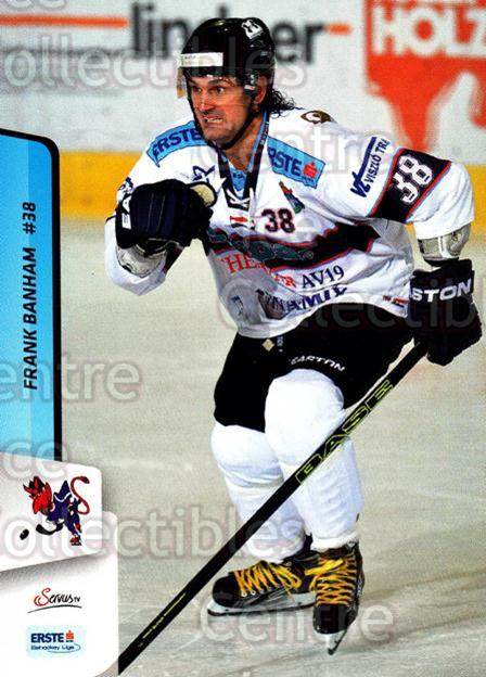 2013-14 Erste Bank Eishockey Liga EBEL #171 Frank Banham<br/>1 In Stock - $2.00 each - <a href=https://centericecollectibles.foxycart.com/cart?name=2013-14%20Erste%20Bank%20Eishockey%20Liga%20EBEL%20%23171%20Frank%20Banham...&quantity_max=1&price=$2.00&code=590738 class=foxycart> Buy it now! </a>